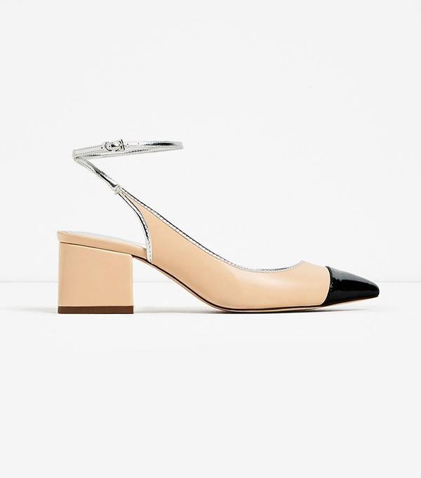 Zara Contrast Slingback