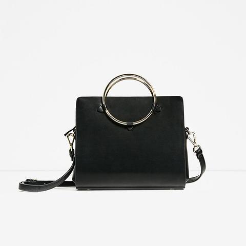 Metallic Straps Mini City Bag