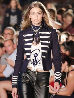 Taylor Swift Supports BFF Gigi Hadid at the Tommy Hilfiger Show