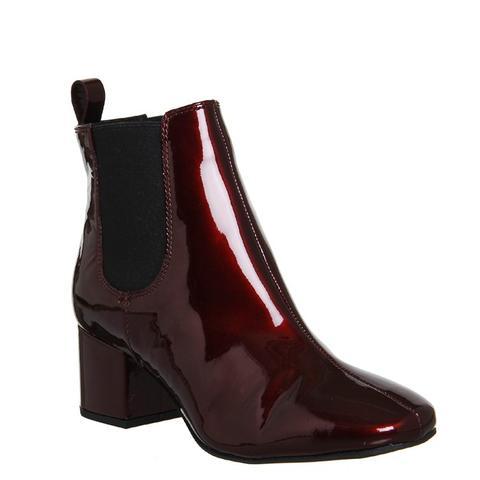 Love Bug Block Heel Chelsea Boots