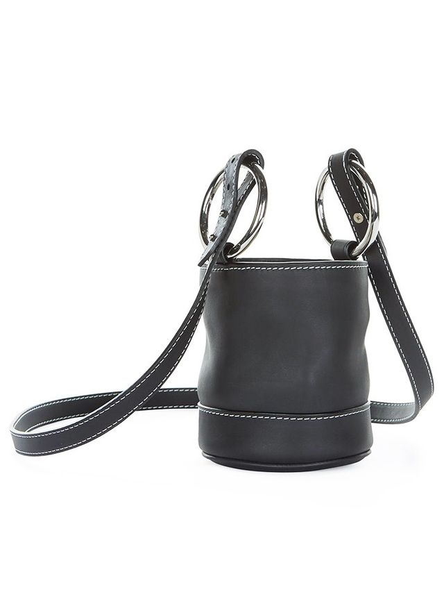 Simon Miller Black Strap Bonsai Bucket Bag