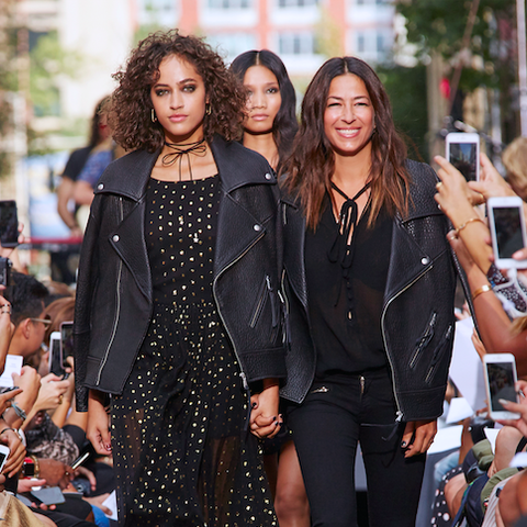 Surprise: Your Favorite Fashion Bloggers Walked the Runway at Rebecca Minkoff