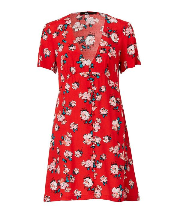 Sportsgirl Floral Tea Dress