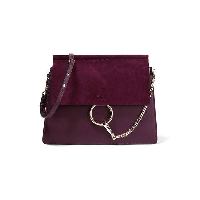 Chloé Faye Medium Leather Shoulder Bag
