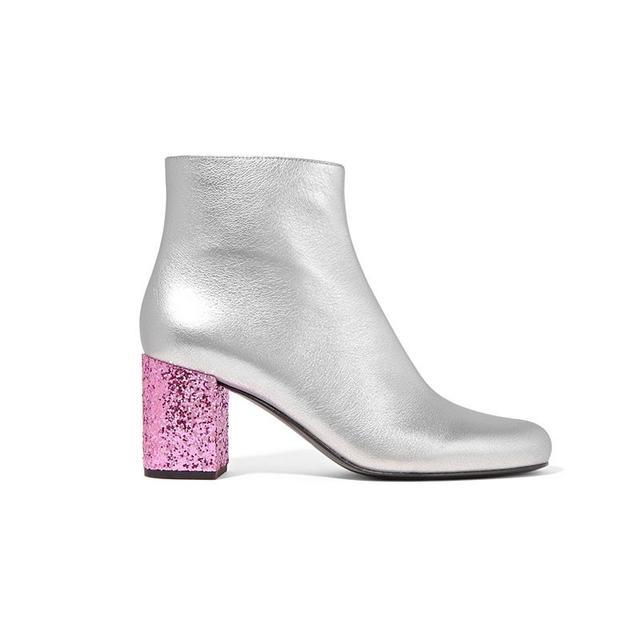 Saint Laurent Babies Leather Boots
