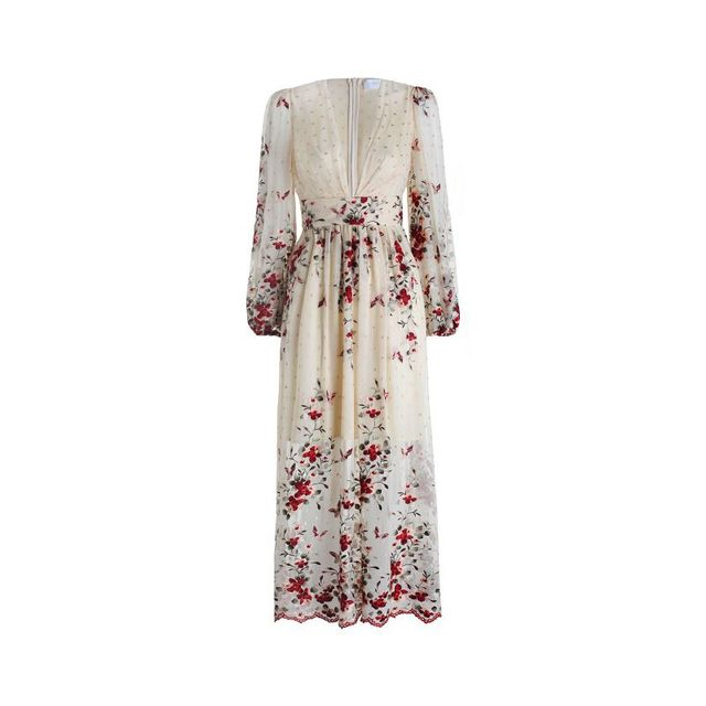 Zimmermann Sakura Plunge Dress