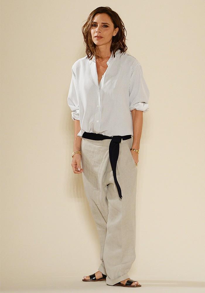 Victoria Beckham fashion show outfit