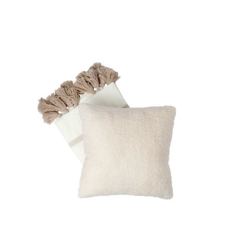 Faux Shearling Decorative Pillow