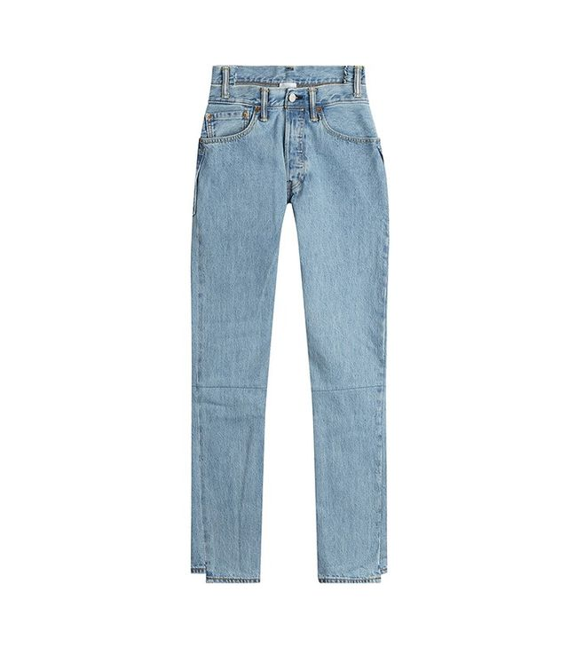 Vetements Reworked Straight-Leg Jeans
