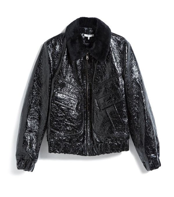 Ganni Scoot Leather Jacket