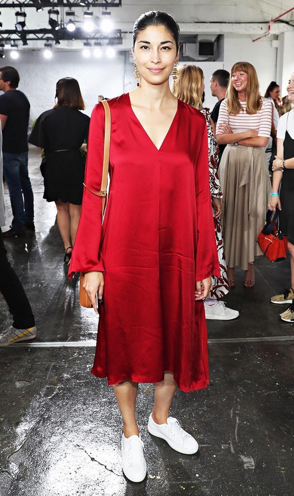 fashion editor street style NYFW