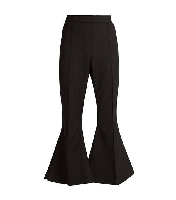 Ellery Federico Flared Cropped Trousers