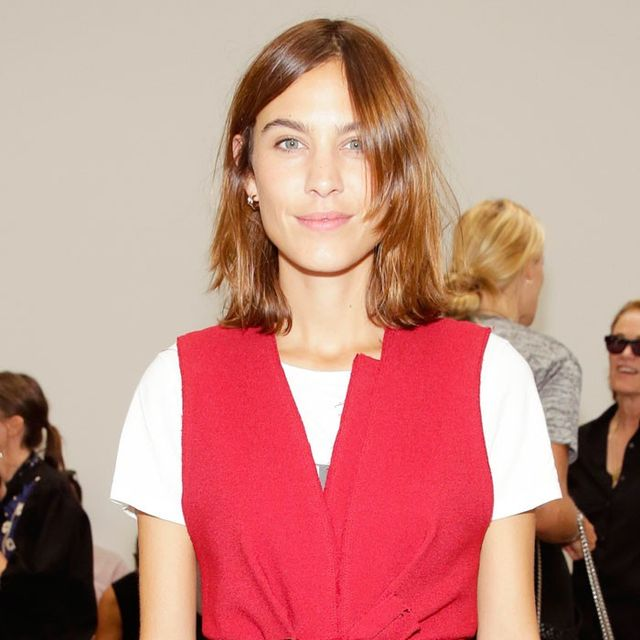Alexa Chung's Front-Row Ankle Boots Stole the Show at Proenza Schouler