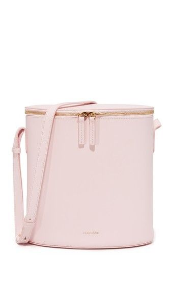 Cuero & Mor Bucket Bag in Blush