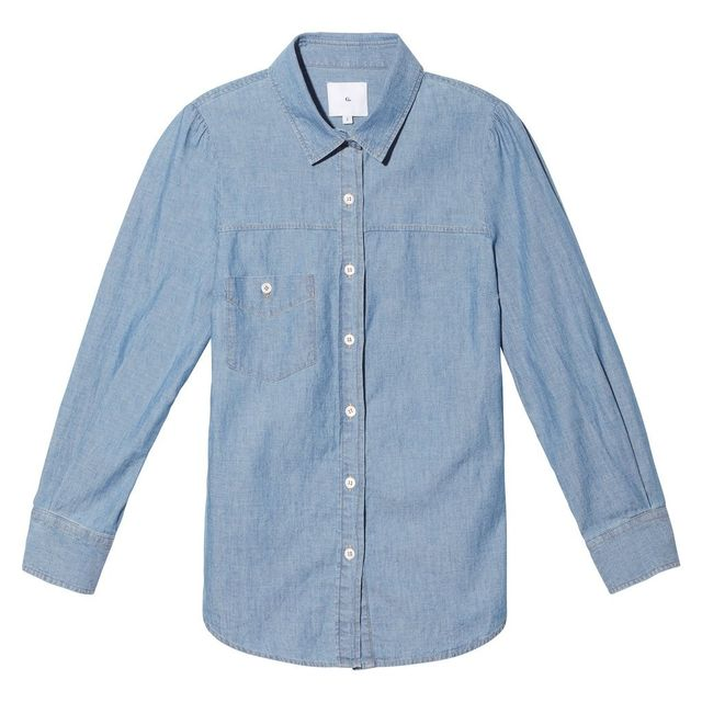 Goop Label Elise Chambray Button Down