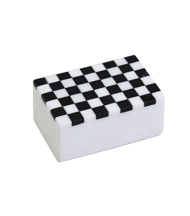 Kelly Wearstler Mini Checkered Box