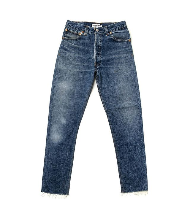 RE/DONE | Levi's High Rise Ankle Crop Jeans
