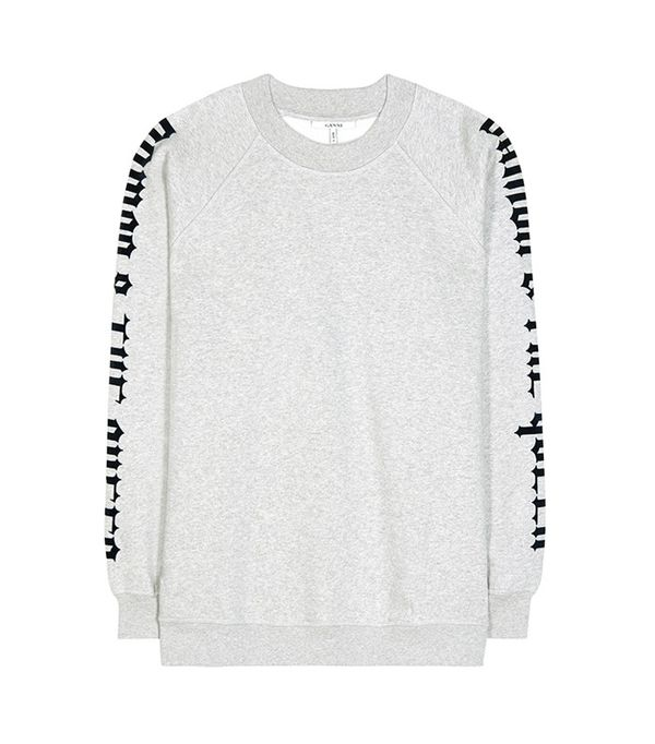 Ganni O'Neill Cotton Sweatshirt