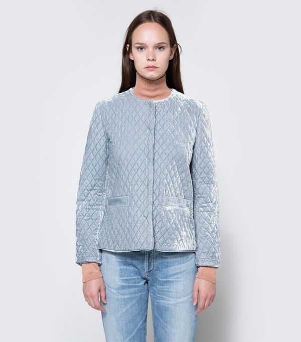 Ganni Hayden Velvet Jacket