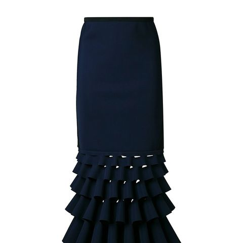 Slash Ruffle Skirt