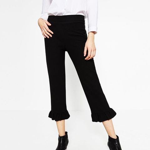 Frilled Trousers