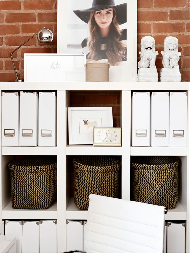 how to organize your office they 39 re martha stewart approved mydomaine. Black Bedroom Furniture Sets. Home Design Ideas