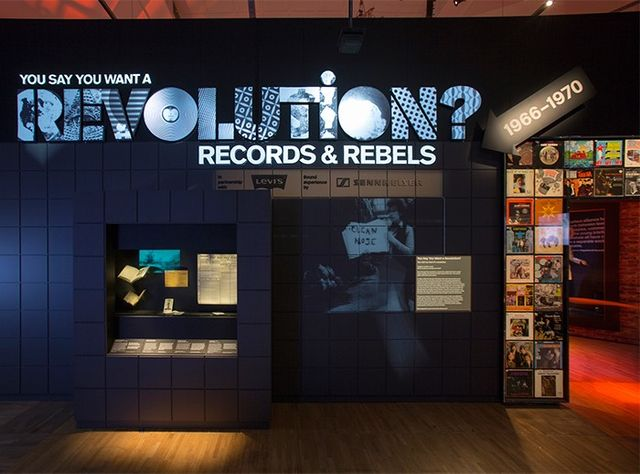 After spending an extended period of time plopped atop a beanbag watching Jimi Hendrix play the national anthem, I made my way to the end of the exhibition, which addresses the final revolution in...