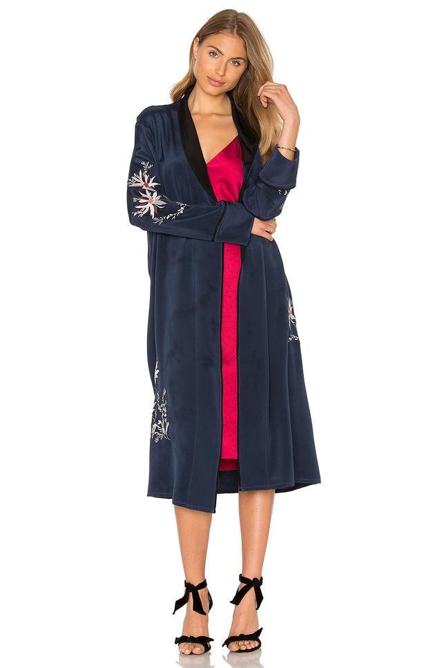 L'Academie x Revolve Silk Robe