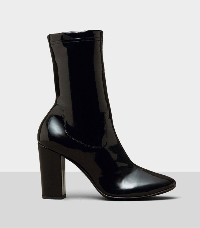 Kenneth Cole Krystal Patent Leather Boots