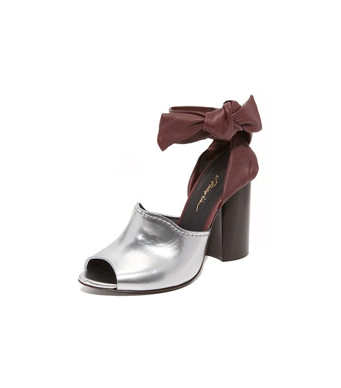 3.1 Phillip Lim Kyoto Ankle Bow Sandals