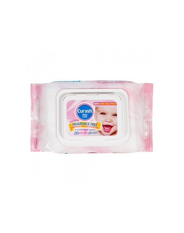 Curash Fragrance Free Baby Wipes