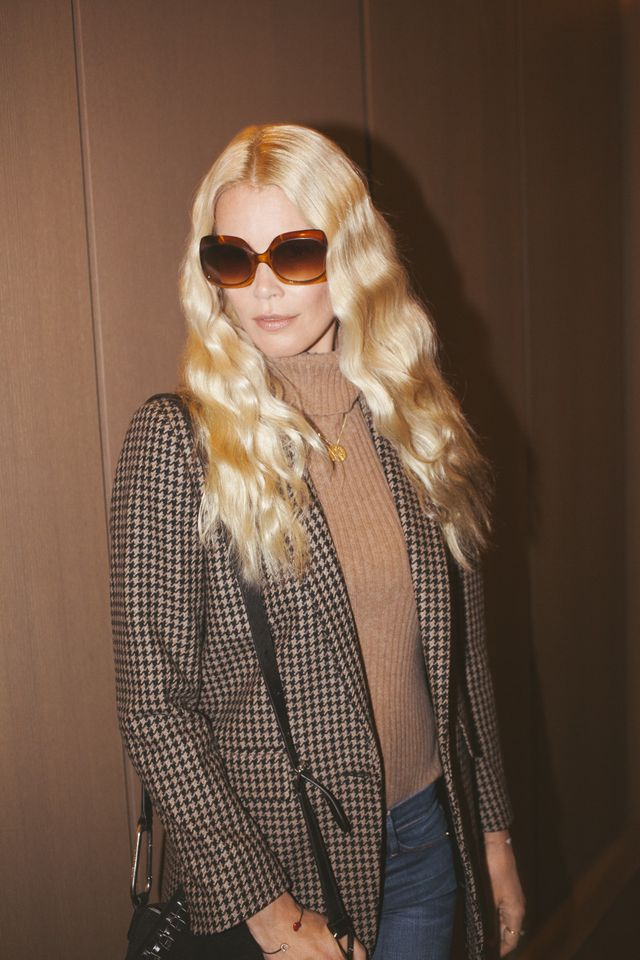 On Claudia Schiffer: Claudia Schiffer Knitwear Turtleneck Pullover ($339).
