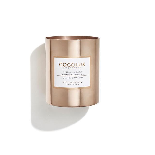 Cocolux Grapefruit & Lemongrass Candle