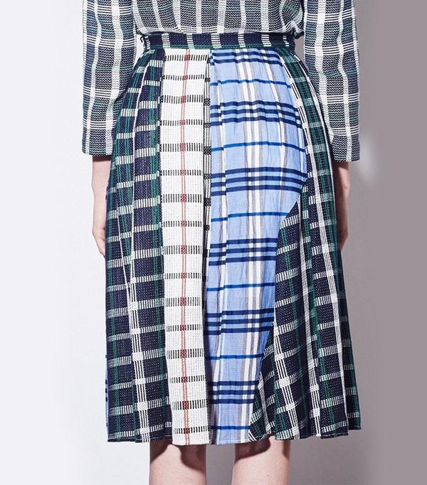Rhie Multi Panel Skirt