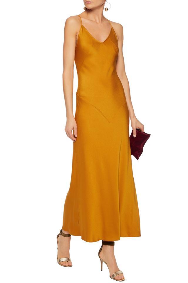 Marissa Webb Satin-crepe maxi dress