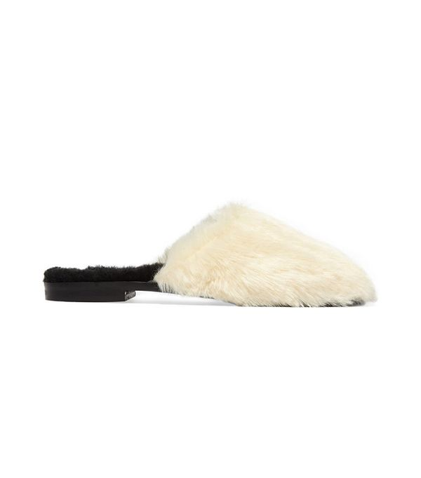 Avec Moderation Aspen Faux Fur and Shearling Slippers