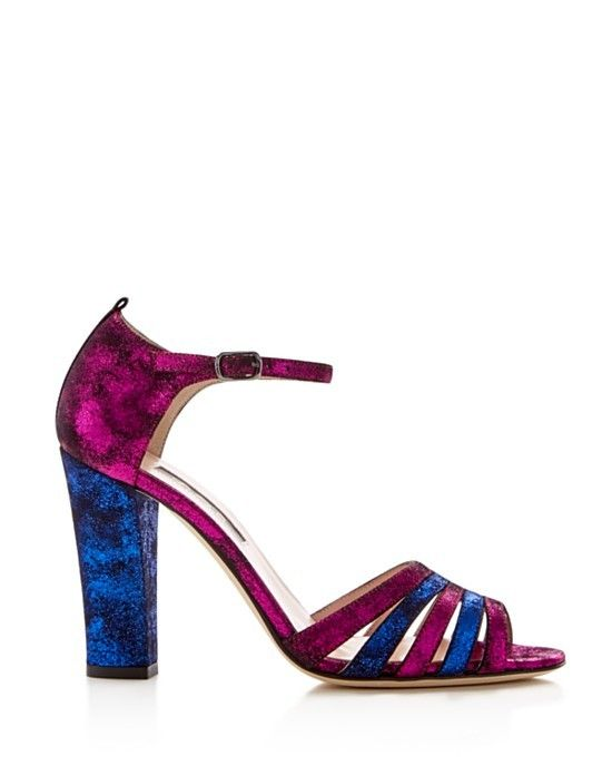 SJP by Sarah Jessica Parker Jagger Ankle Strap High Heel Sandals