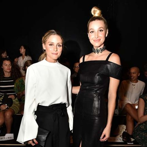 Whitney Port and Olivia Palermo Took the Most Stylish Photo at NYFW