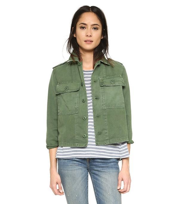 Amo Army Shirt Jacket