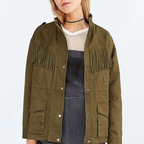Fringe Surplus Jacket