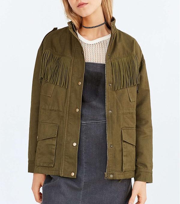 J.O.A. Fringe Surplus Jacket