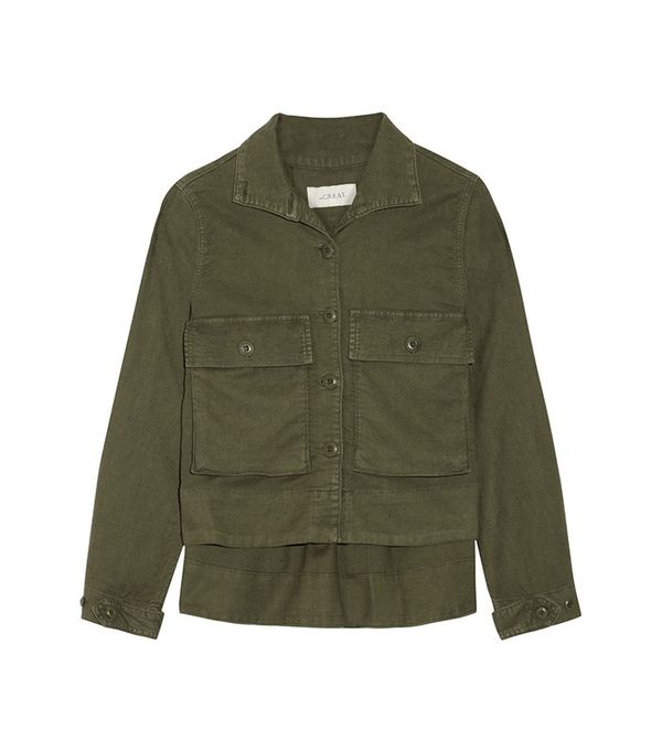 The Great The Swingy Army Canvas Jacket