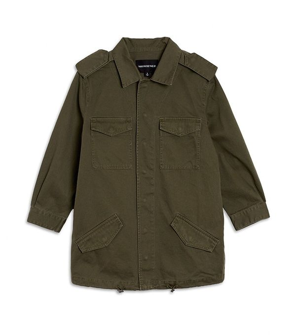 Who What Wear Women's Slouchy Utility Jacket
