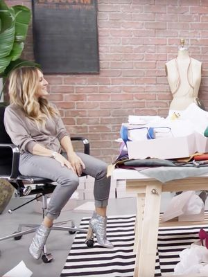 Watch Sarah Jessica Parker Gift Her Shoes to Amazon Fashion's Team