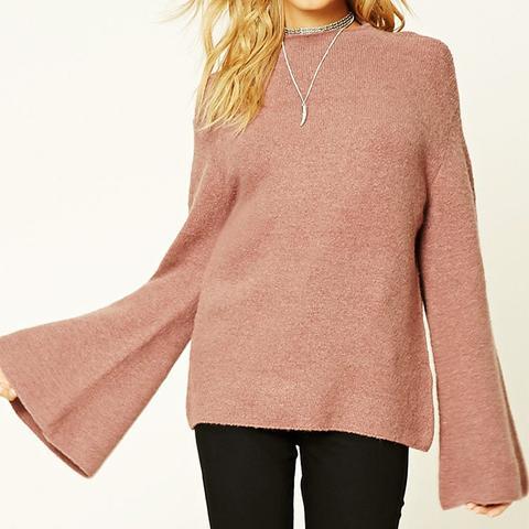Contemporary Mock Neck Sweater