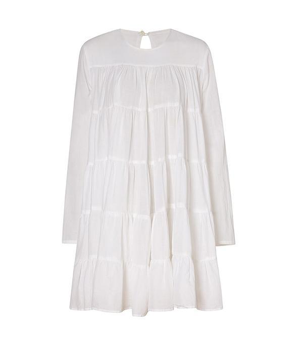 Merlette White Soliman Dress