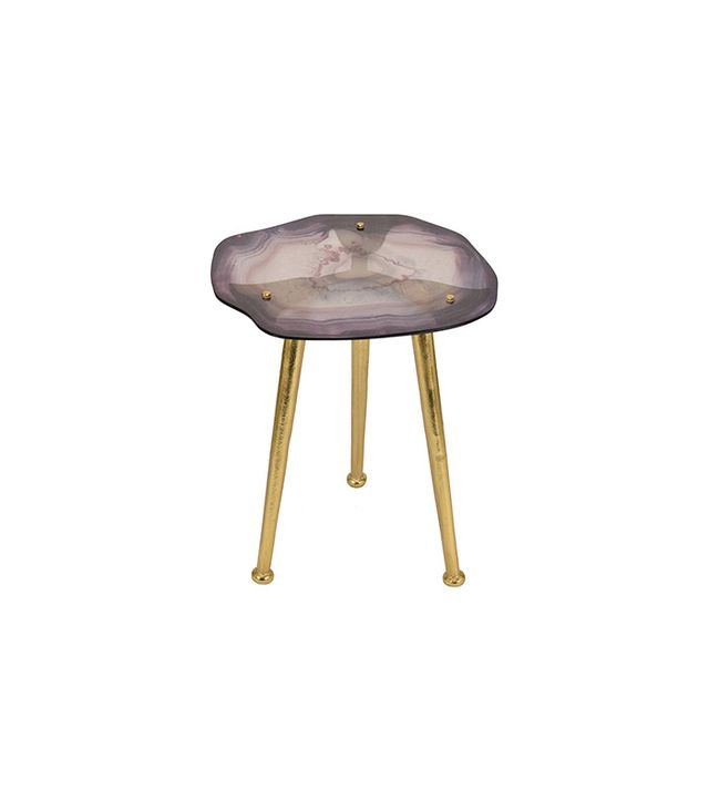 Nate Berkus for Target Glass Agate Accent Table