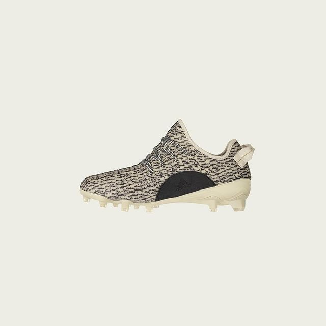 The Yeezy cleat will be available to shop starting tomorrow.