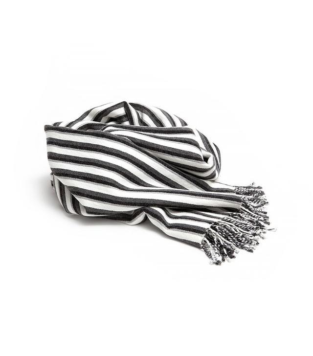 Zara Home Stipe Wool Throw