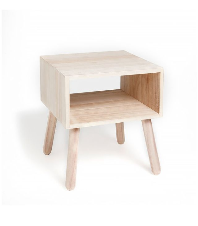 Zara Home Side Table With Compartment
